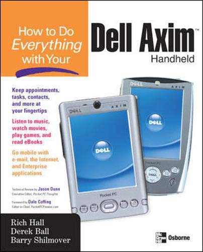 9780072229554: How to Do Everything with Your Dell Axim Handheld (How to Do Everything)