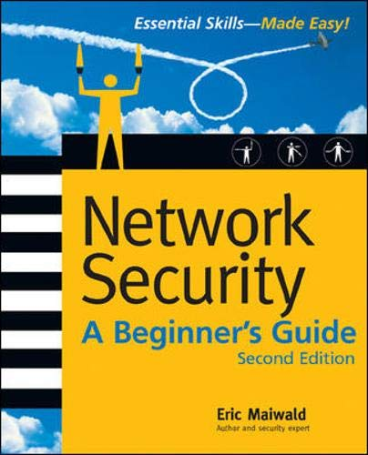 9780072229578: Network Security: A Beginner's Guide, Second Edition (Beginner's Guide)