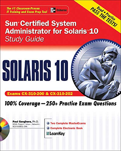 9780072229592: Sun Certified System Administrator for Solaris 10 Study Guide (Exams CX-310-200 & CX-310-202) (Certification Press)