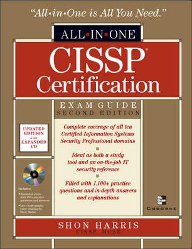 9780072229660: CISSP Certification: Exam Guide, 2nd Edition (All-in-One) (Book & CD)
