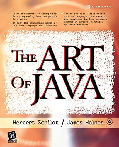 9780072229714: Art of Java