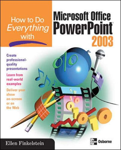 9780072229721: How to Do Everything with Microsoft Office PowerPoint 2003
