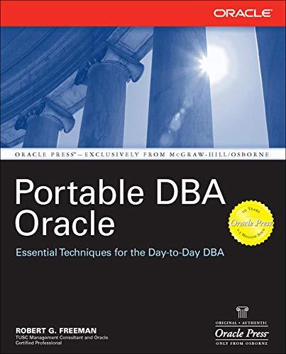 9780072229806: Portable DBA: Oracle