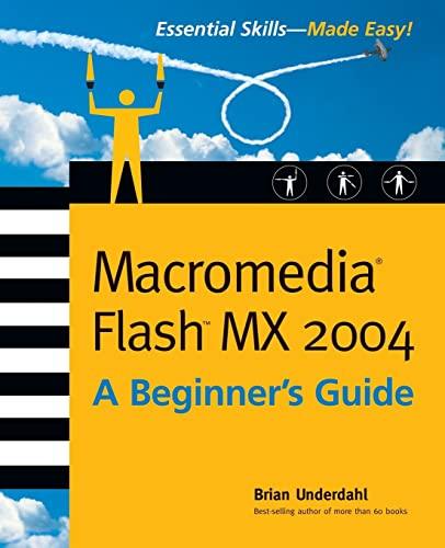 9780072229820: Macromedia Flash MX 2004: A Beginner's Guide
