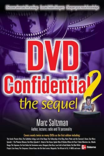 9780072229868: DVD Confidential 2: The Sequel (Consumer)