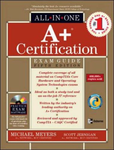 9780072229912: A+ Certification All-in-one Exam Guide