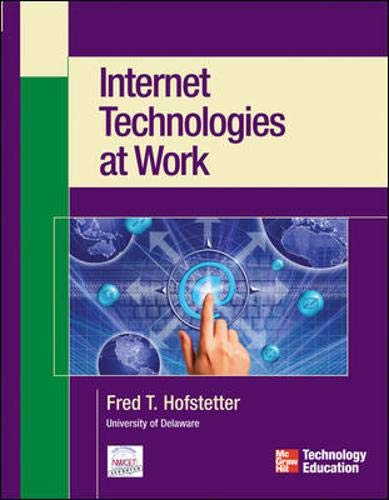 9780072229998: Internet Technologies at Work (Mike Meyers' Computer Skills)