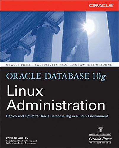 9780072230536: Oracle Database 10g Linux Administration