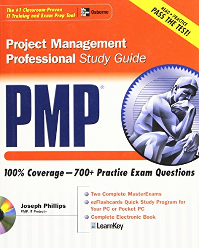 pmp project management professional study guide by phillips joseph rh abebooks co uk 30 Days Study Guide PMP PMP Study Map