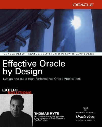 9780072230659: Effective Oracle by Design (Oracle Press)