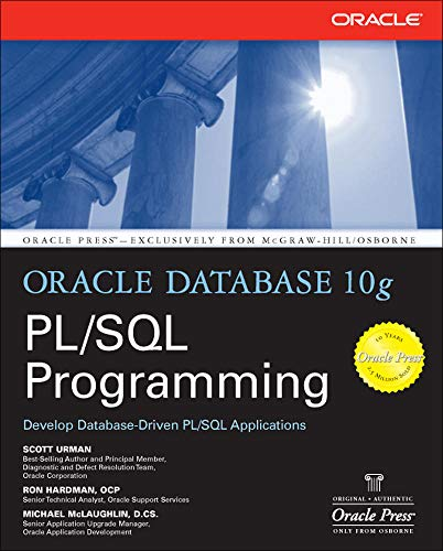 9780072230666: Oracle Database 10g PL/SQL Programming
