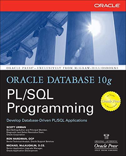 9780072230666: Oracle Database 10g PL/SQL Programming (Oracle Press)