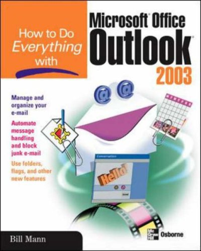 9780072230703: How to Do Everything with Microsoft Office Outlook 2003