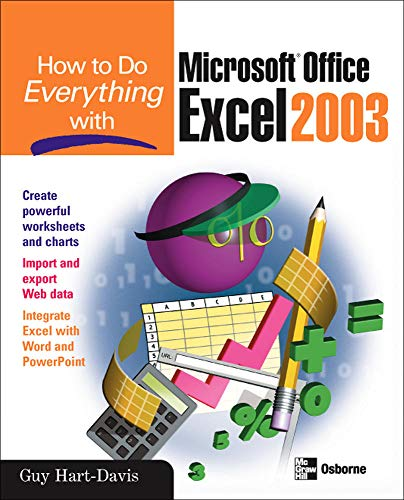 9780072230710: How to Do Everything with Microsoft Office Excel 2003 (How to Do Everything)