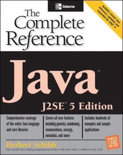 9780072230734: Java: The Complete Reference, J2SE 5 Edition