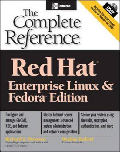9780072230758: Red Hat Enterprise Linux & Fedora Edition (DVD): The Complete Reference