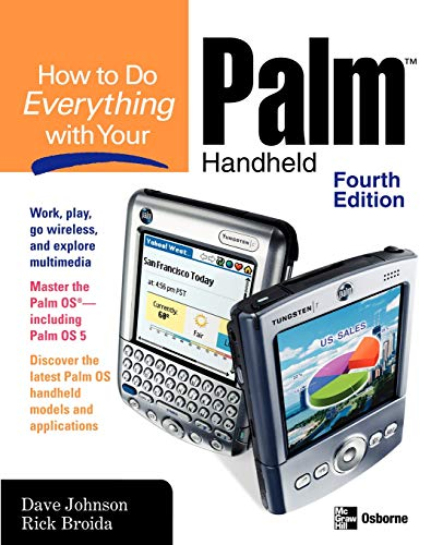 9780072230826: How to Do Everything with Your Palm Handheld, Fourth Edition