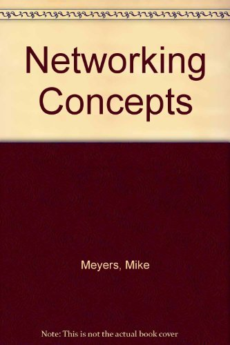 9780072230895: Networking Concepts (Mike Meyers' Computer Skills)