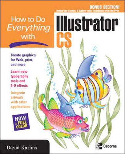 9780072230925: How to Do Everything with Adobe Illustrator CS