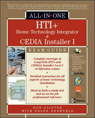 9780072231328: HTI+ Home Technology Integration All-in-One Exam Guide (All-in-One)
