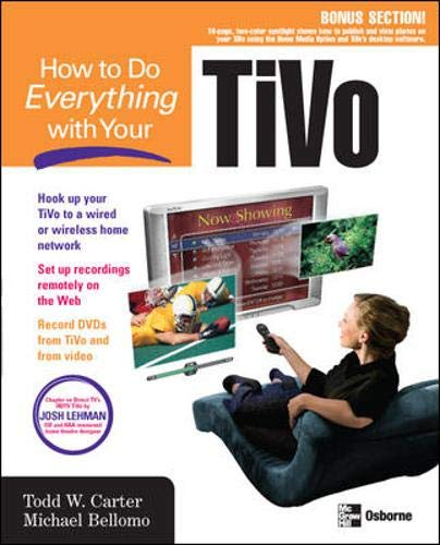 9780072231403: How to Do Everything with Your TiVo (How to Do Everything)