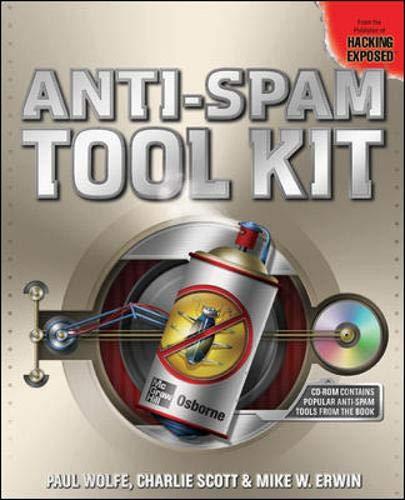 9780072231670: Anti-Spam Tool Kit
