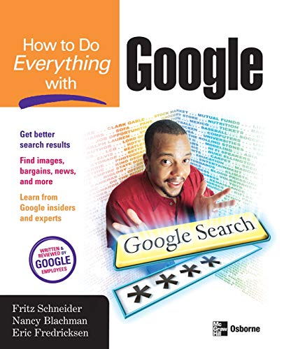 9780072231748: How to Do Everything with Google (HTDE)