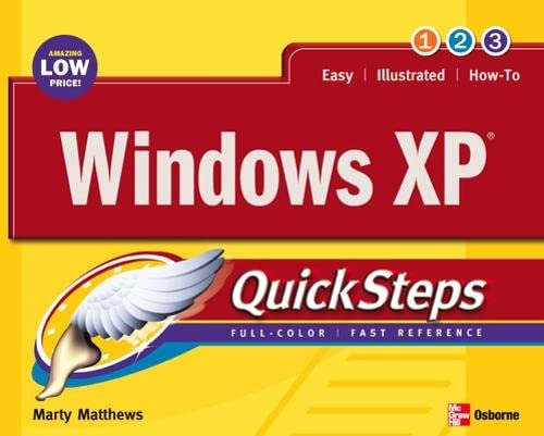 Windows XP Quicksteps (0072232188) by Martin Matthews