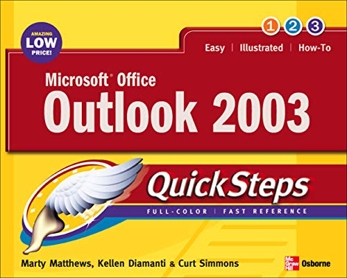 9780072232271: Microsoft Office Outlook 2003 QuickSteps