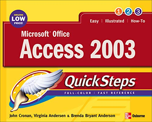 9780072232295: Microsoft Office Access 2003 QuickSteps