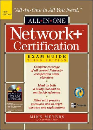 9780072253450: Network+ Certification All-in-One Exam Guide, Third Edition (All-in-One)