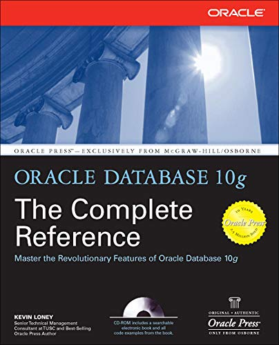9780072253511: Oracle Database 10g: The Complete Reference (Osborne ORACLE Press Series)