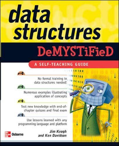 9780072253597: Data Structures Demystified (Demystified)