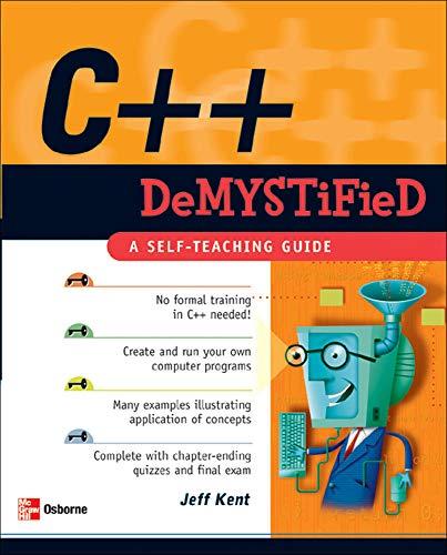 9780072253702: C++ Demystified