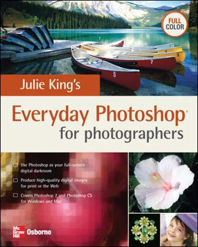 9780072254372: Julie King's Everyday Photoshop for Photographers