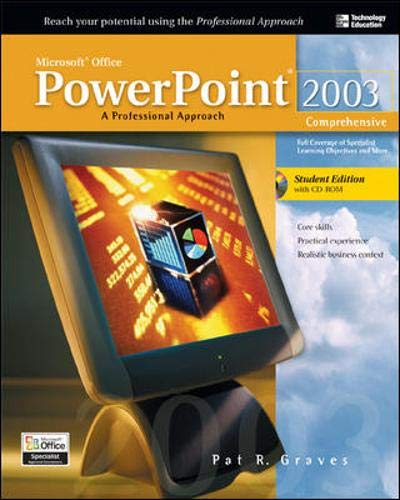 9780072254440: Microsoft Office 2003 PowerPoint : A Professional Approach, Comprehensive w/ Student CD