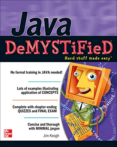 9780072254549: Java Demystified: A Self-teaching Guide