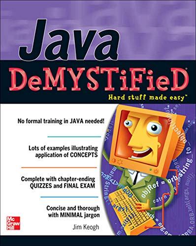 9780072254549: Java Demystified