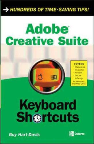 9780072254990: Adobe Creative Suite Keyboard Shortcuts