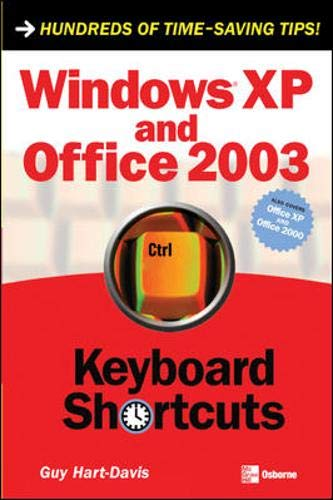 9780072255003: Windows Xp and Office 2003 Keyboard Shortcuts