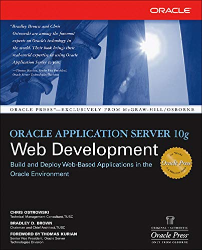 9780072255119: Oracle Application Server 10g Web Development (Oracle Press)