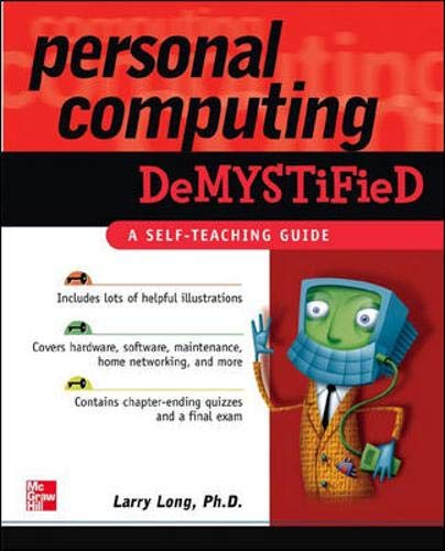 9780072255140: Personal Computing (Demystified)