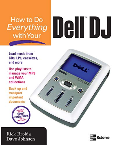 9780072255508: How to Do Everything with Your Dell DJ