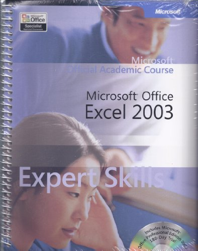 9780072255706: Microsoft Office Excel 2003 Core Skills (Microsoft Official Academic Course)