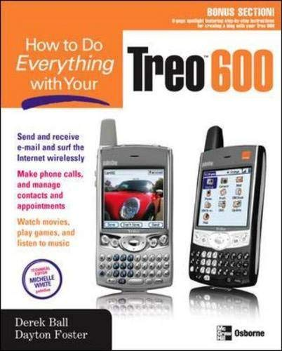 9780072255812: How to Do Everything with Your Treo 600