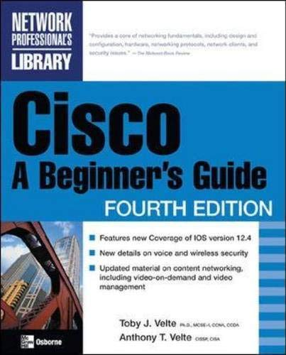 9780072256352: Cisco: A Beginner's Guide, Third Edition