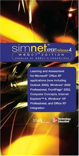 9780072256727: SimNet XPert Release 4 WebCT Edition Office Suite