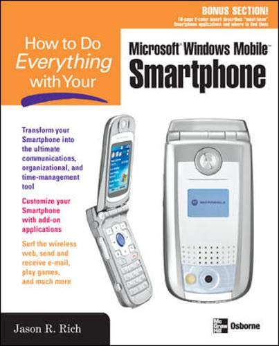 9780072256741: How to Do Everything with Your Smartphone, Windows Mobile Edition