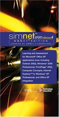 9780072256864: SimNet XPert Release 4 WebCT Edition Two Modules