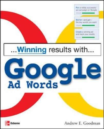 9780072257021: Winning Results with Google Ad Words